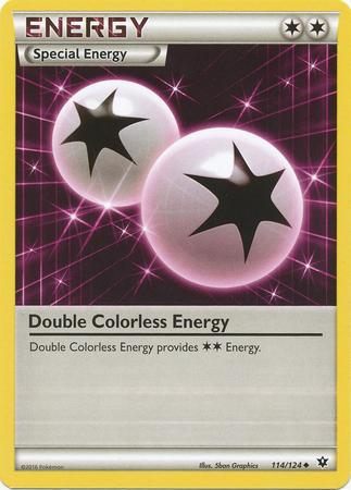Double Colorless Energy (#114/124)