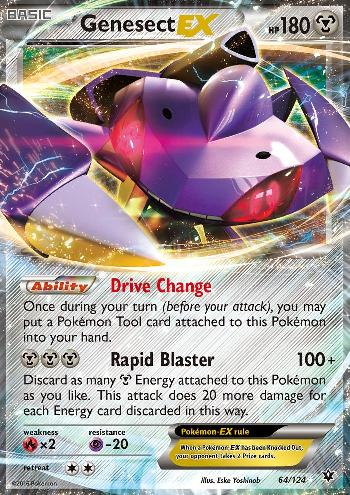 Genesect-EX (#64/124)