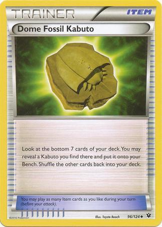 Dome Fossil Kabuto (#96/124)