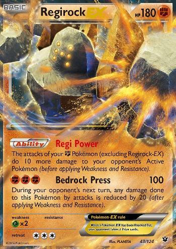 Regirock-EX (#43/124)