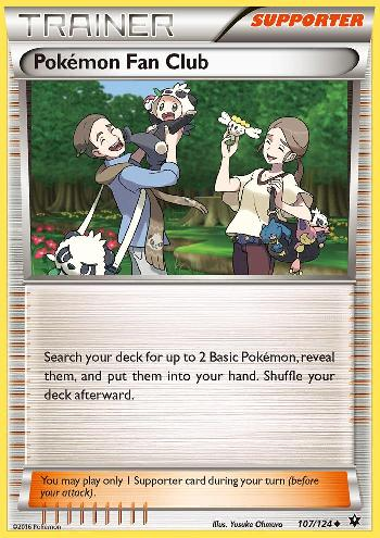 Pokémon Fan Club (#107/124)