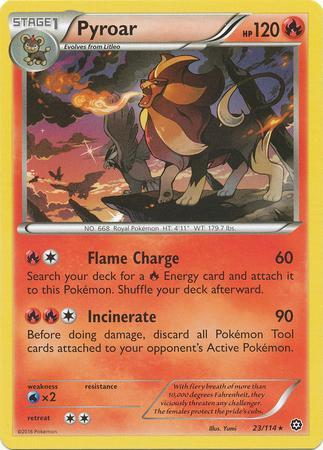 Pyroar (#23/114)