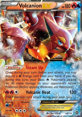 Volcanion-EX (#26/116)