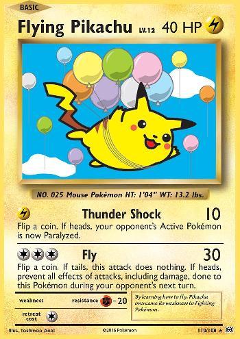 Flying Pikachu (#110/108)