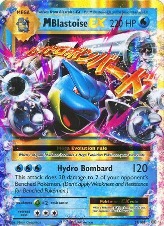 M Blastoise-EX (#22/108)