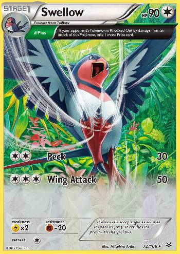 Swellow (#72/108)