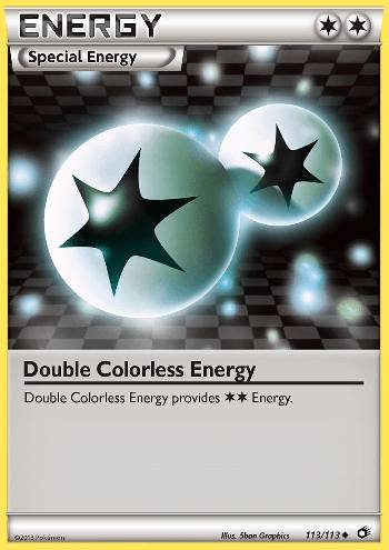 Energia Incolor Dupla / Double Colorless Energy (#113/113)