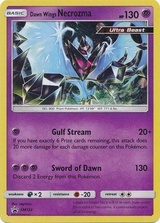 Dawn Wings Necrozma (#SM123/∞)
