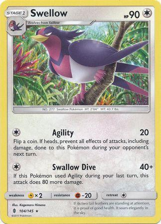 Swellow (#104/145)