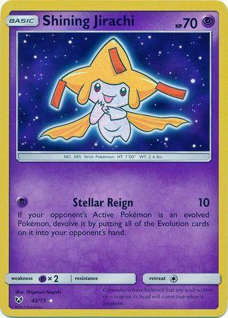 Jirachi Luminescente (#42/73)
