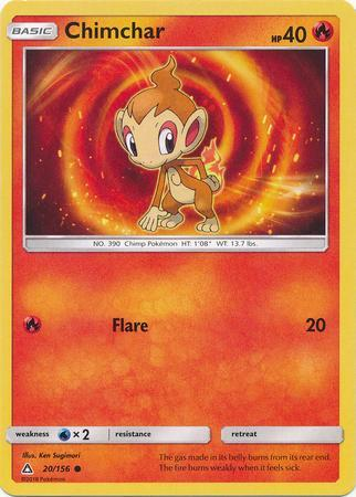 Chimchar (#20/156)