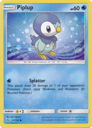 Piplup (#31/156)