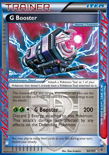 Booster G (#92/101)
