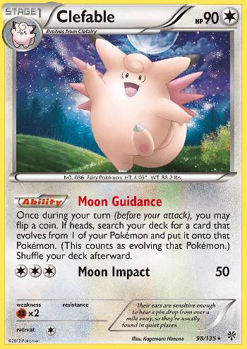 Clefable (#98/135)