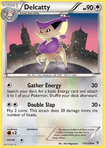 Delcatty (#114/149)