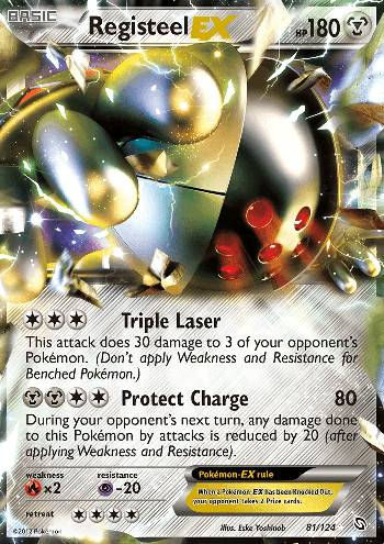 Registeel-EX (#81/124)
