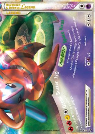 Rayquaza & Deoxys LEGEND (#90/91)
