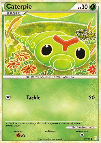 Caterpie (#57/124)