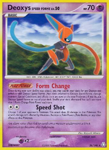 Deoxys Speed Forme (#26/146)