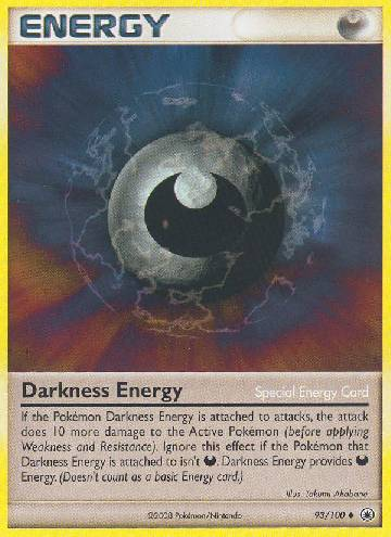 Energia de Escuridão / Darkness Energy (#93/100)