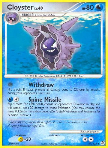 Cloyster (#47/132)