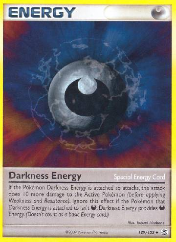 Energia de Escuridão / Darkness Energy (#129/132)