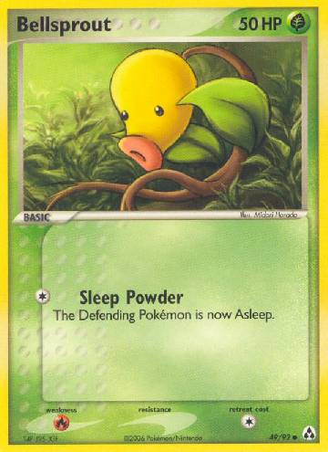 Bellsprout (#49/93)