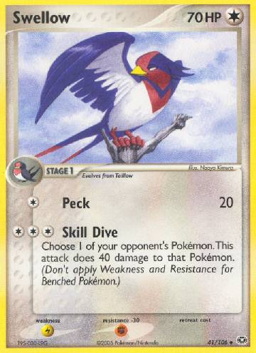 Swellow (#41/106)