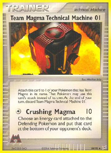 Team Magma Technical Machine 01 (#84/97)