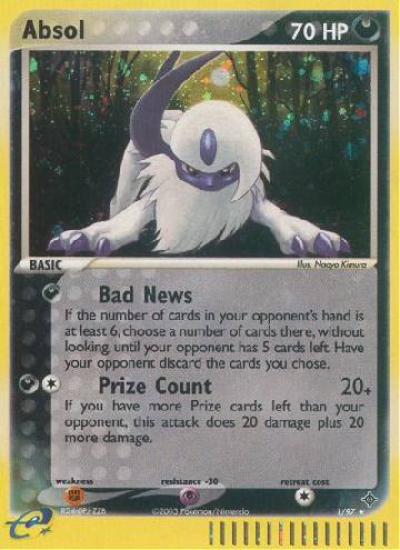 Absol (#1/100)