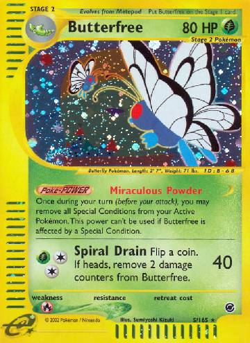 Butterfree (#5/165)