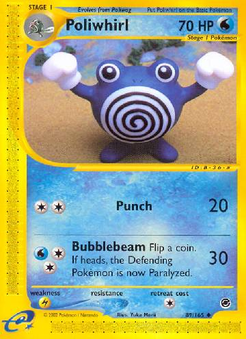 Poliwhirl (#89/165)