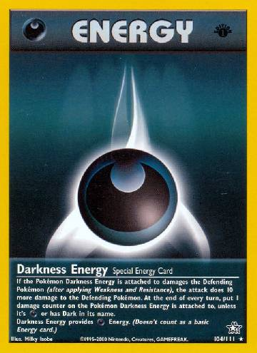 Energia de Escuridão / Darkness Energy (#104/111)