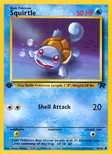 Squirtle (#68/83)