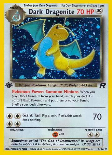 Dark Dragonite (#5/83)