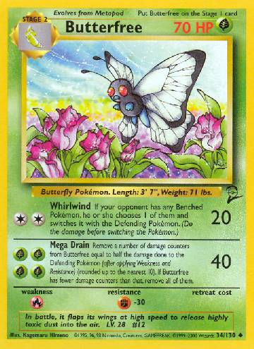 Butterfree (#34/130)