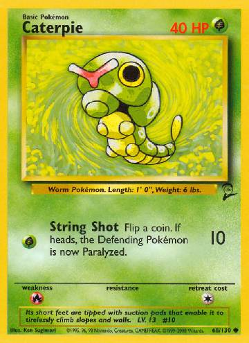 Caterpie (#68/130)