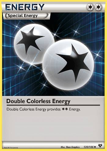 Energia Incolor Dupla / Double Colorless Energy (#130/146)