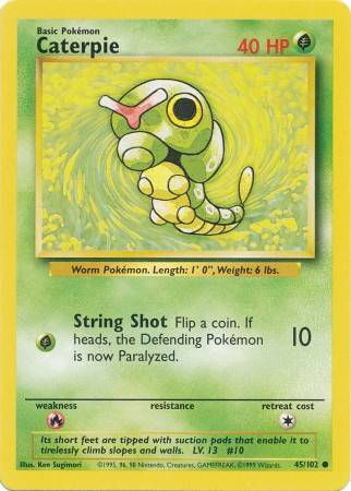 Caterpie (#45/102)