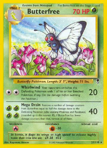 Butterfree (#21/110)