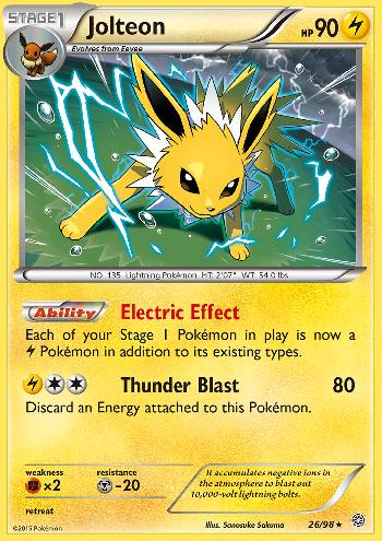 Jolteon (#26/98)