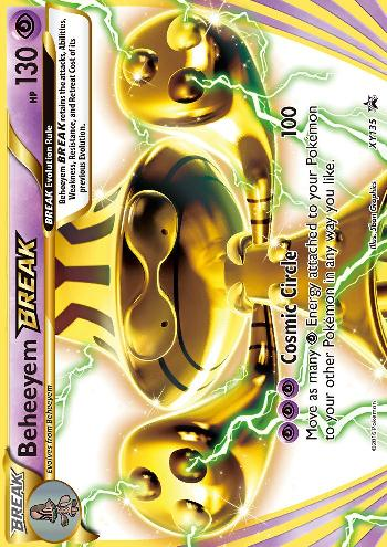 Beheeyem TURBO (#XY135/∞)