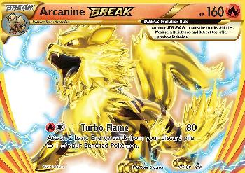 Arcanine TURBO / Arcanine BREAK (#XY180/∞)