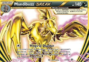 Mandibuzz TURBO / Mandibuzz BREAK (#XY182/∞)