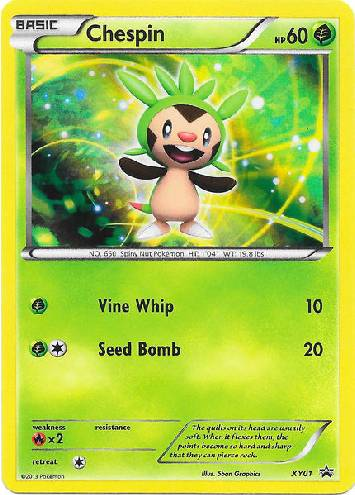Chespin (#XY01/∞)