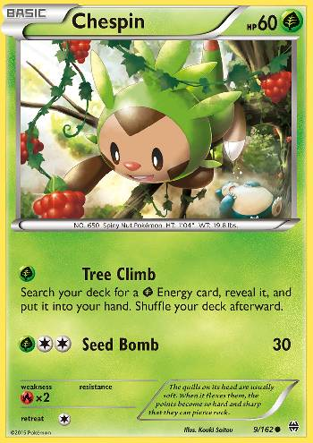 Chespin (#9/162)
