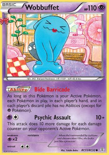 Wobbuffet (#RC11/83)