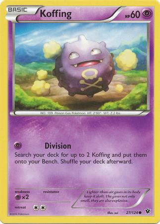 Koffing (#27/124)