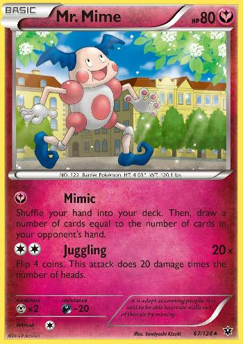 Mr. Mime (#67/124)